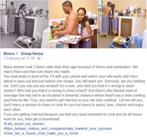 Kenyans moving towards feminism